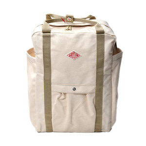 "DANTON #JD-7071 SCV Cotton Canvas Bag ""Ecru"""