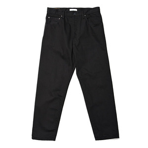 "HATSKI Loose Tarperd Denim ""Black"""