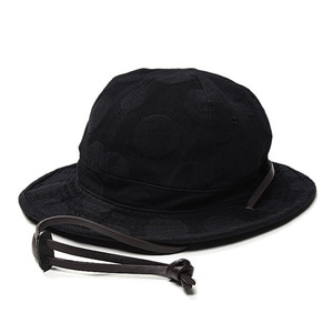 "EASTLOGUE Traveler Hat ""Black Hidden Dot"""