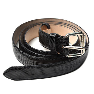 "SOE Leather Long Belt ""Black"""