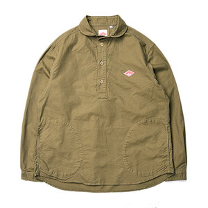 "DANTON #JD-3568 Oxford Shirts ""Olive"""