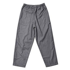 "DANTON #JD-2564 Wool Flannel Tapered Pants ""M.Grey"""