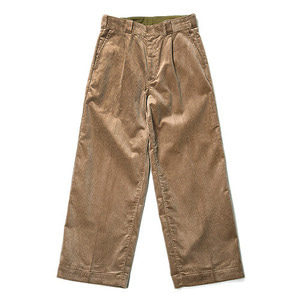 "DANTON #JD-2566 Corduroy Wide Pants ""Taupe"""