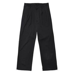 "BUKHT Two Tuck Baggy Trousers ""Black"""