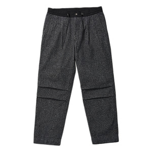 "Unaffected 2 Pleated Drawstring Pants ""Grey HB"""