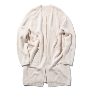 "STAND OUT STORE 4G Knit Coat ""Ecru"""