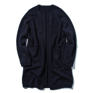 "STAND OUT STORE 4G Knit Coat ""Navy"""