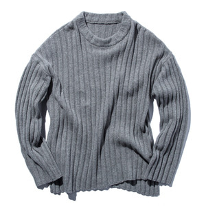"STAND OUT STORE 5G Knit Sweater ""Light Gray"""