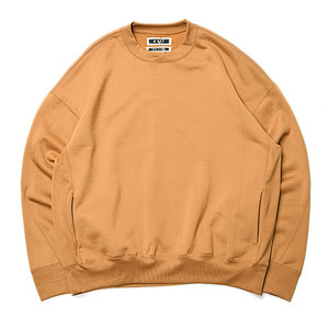 "KIIT N/C Pile Crew Neck Tops ""Yellow"""