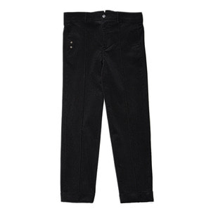 "Qlad Museum Solitude Corduroy Pintuck Pants ""Black"""