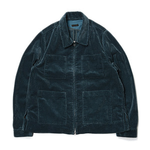 "BUKHT Big Corduroy Blouson ""Dark Green"""