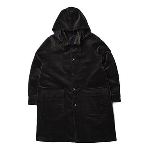 "ID DAILYWEAR Fat Cords Reversible Coat ""Black"""