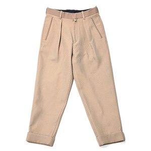 "ID DAILYWEAR Intuck Wide Pants ""Beige"""
