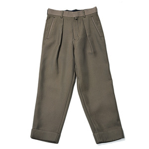 "ID DAILYWEAR Intuck Wide Pants ""Khaki"""
