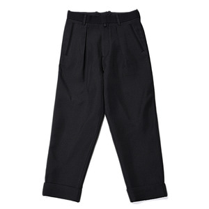"ID DAILYWEAR Intuck Wide Pants ""Black"""