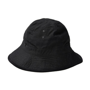 "Infielder Design Backsatin Mil Hat ""Black"""