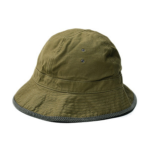 "Infielder Design Backsatin Mil Hat ""Olive"""