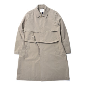 "Still by Hand Bal Collar Coat ""Beige"""
