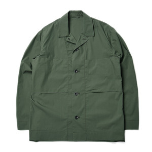 "Still by Hand C/Pe Shirts Jacket ""Green"""