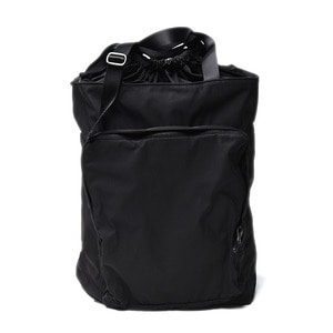 "AMIACALVA Gabardine Memory 2way Backpack ""Black"""
