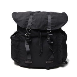 "AMIACALVA Gabardine Memory XL Backpack ""Black"""