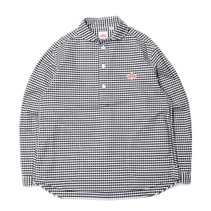 "DANTON #JD-3568 Oxford Shirts ""Black Gingham"""