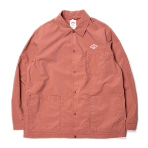 "DANTON #JD-8882 Nylon Taffeta Coach Jacket ""Old Rose"""