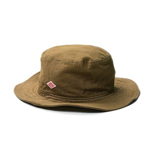 "DANTON #JD-7124 Cotton Twill Hat ""It.Brown"""