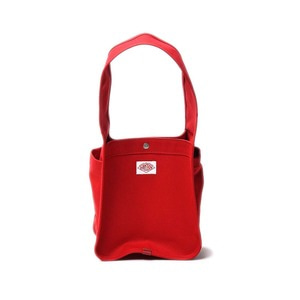 "DANTON #JD-7143 Cotton Canvas Mini Tote Bag ""Red"""