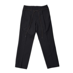 "Unaffected Drawstring Slacks ""Black"""