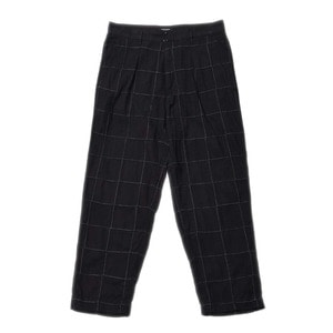 "East Logue Holiday Pants ""Black Madras"""