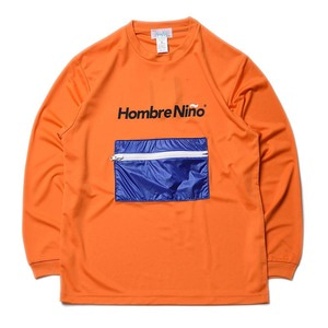 "Hombre Niño x CORONA Zipper Pocket packable Tee ""Orange"""