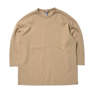 "Unaffected Oversized Crewneck Tee ""Beige"""