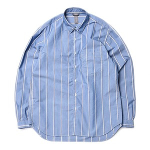 "Unaffected Oversized Basic Shirt ""Blue Stripe"""