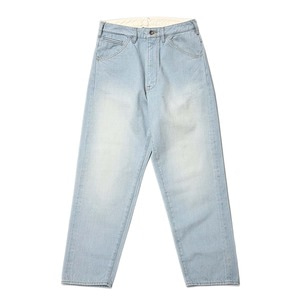 "BUKHT Big Denim Pants Long 12.5oz Selvage Denim ""Light Vintage"""
