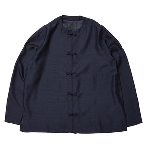 "BUKHT Oriental Shirts ""Navy Purple"""