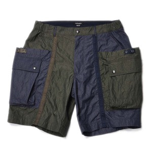 "East Logue Wagon Shorts ""Olive&Navy"""