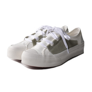 "NEEDLES Asymmetric Ghillie Sneaker ""White"""