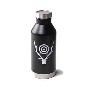 "SOUTH2 WEST8 Water Bottle Thermos 600ml ""Deer Skull"""