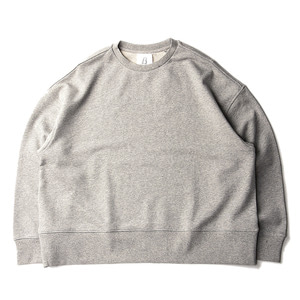 "BROWNYARD Wide Sweat ""Grey"""