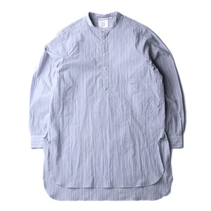 "BROWNYARD Tunic Shirt ""Blue Stripe"""