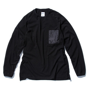 "STAND OUT STORE Rib L/S (T5) ""Black"""