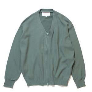 "GAKURO Zippered Cardigan ""Mint"""