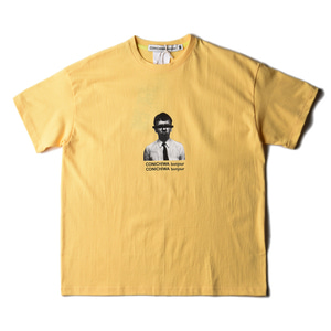 "CONICHIWA bonjour Face T ""Light Yellow"""