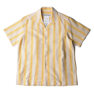 "CONICHIWA bonjour Line Shirts ""Yellow"""