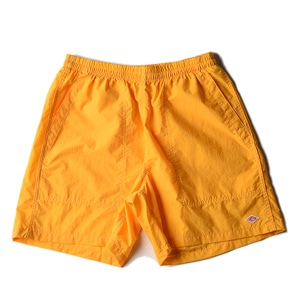 "DANTON #JD-9041 Nylon Taffeta Shorts ""Yellow"""