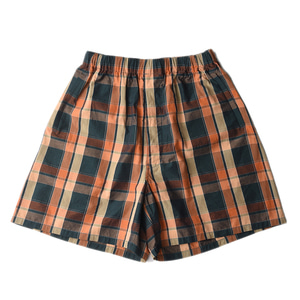 "KAPTAIN SUNSHINE Athletic Shorts ""Brown Check"""