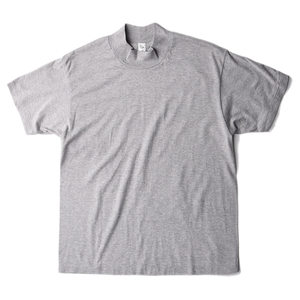 "KAPTAIN SUNSHINE Mockneck Half Sleeved Tee ""Feather Grey"""