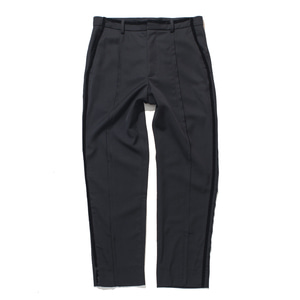 "GAKURO Uniform Slit Trousers ""Black"""