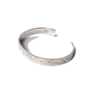 North Works 900.Silver Stamp Bangle S